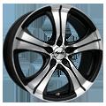 Advanti-Racing Straycat Black SG43 8x18 ET45 LK5x120